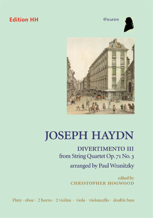 Divertimento III, from Op. 71 No. 3