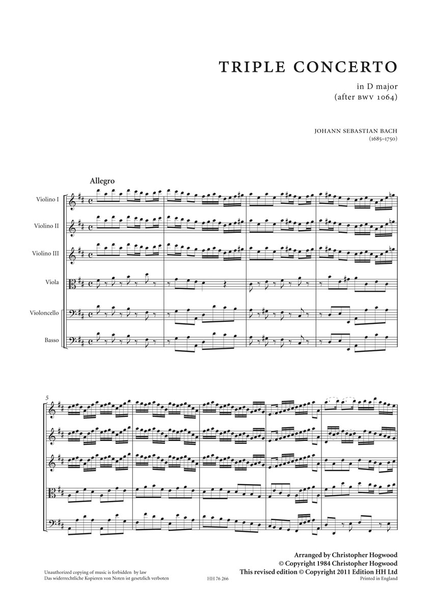 Bach (from HH266)