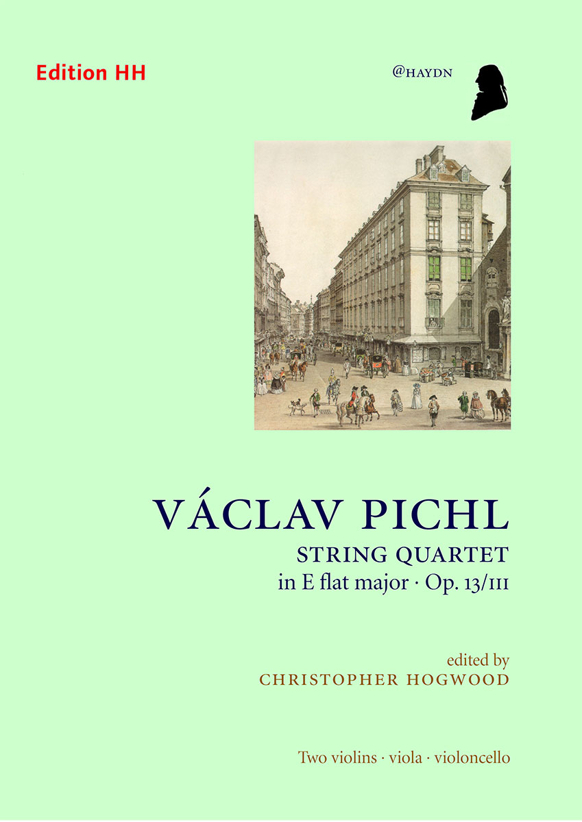 Pichl, Václav: String quartet in E flat major