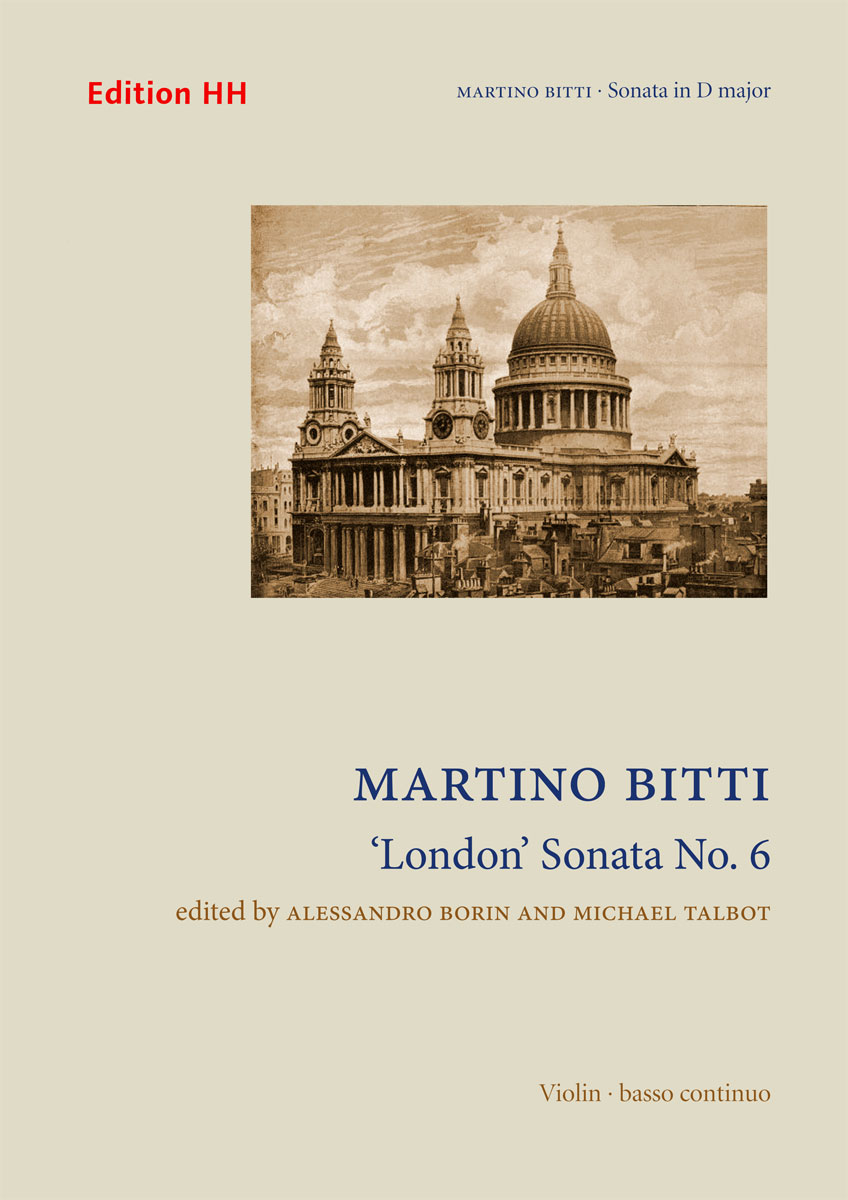 Bitti, Martino: 'London' Sonata No. 6