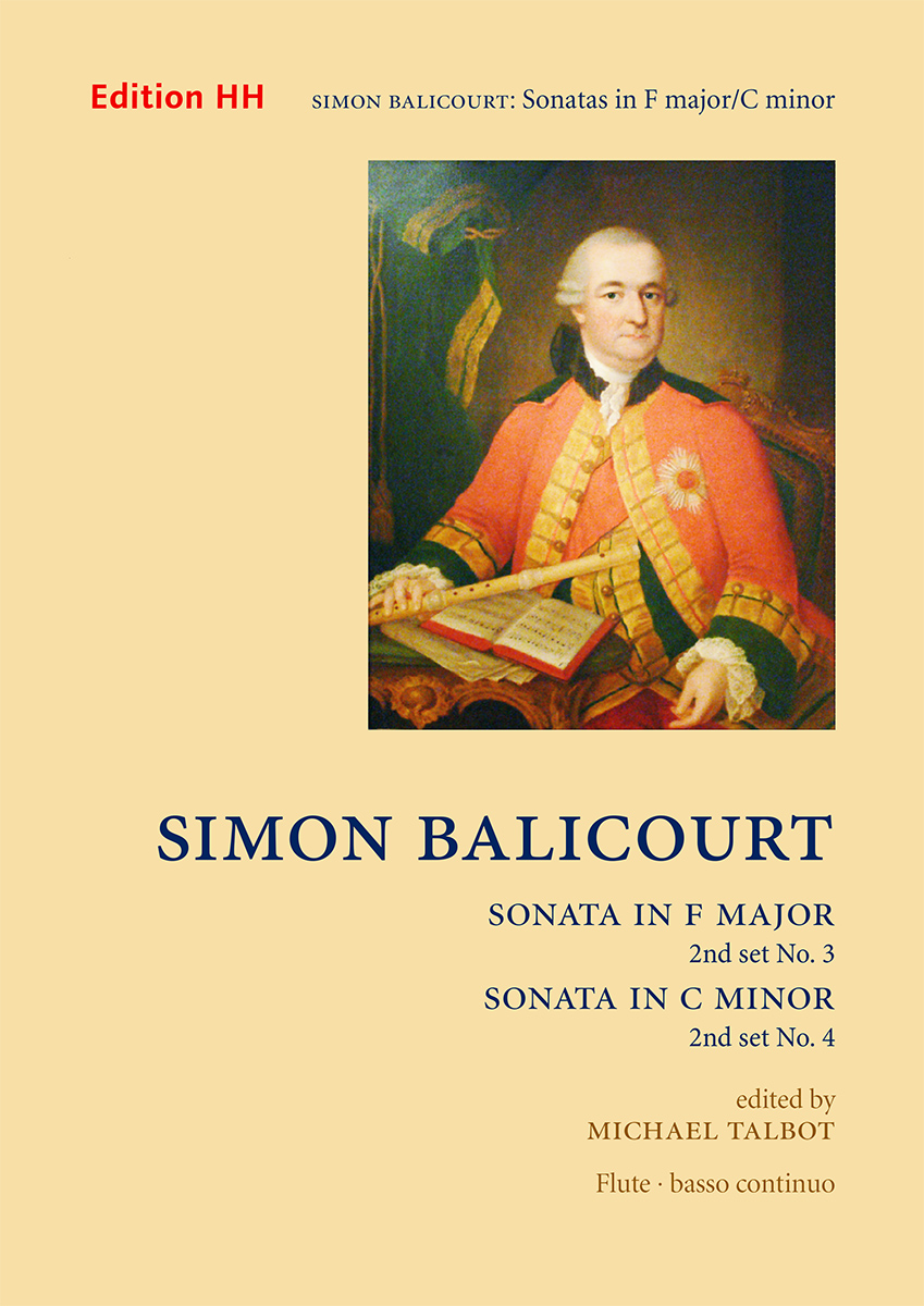 Balicourt, Simon, Set 2: Sonatas nos. 3 in F major and 4 in C minor
