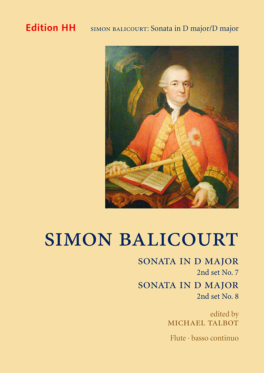 Balicourt, Simon, Set 2: Sonatas nos. 7 in D major and 8 in D major