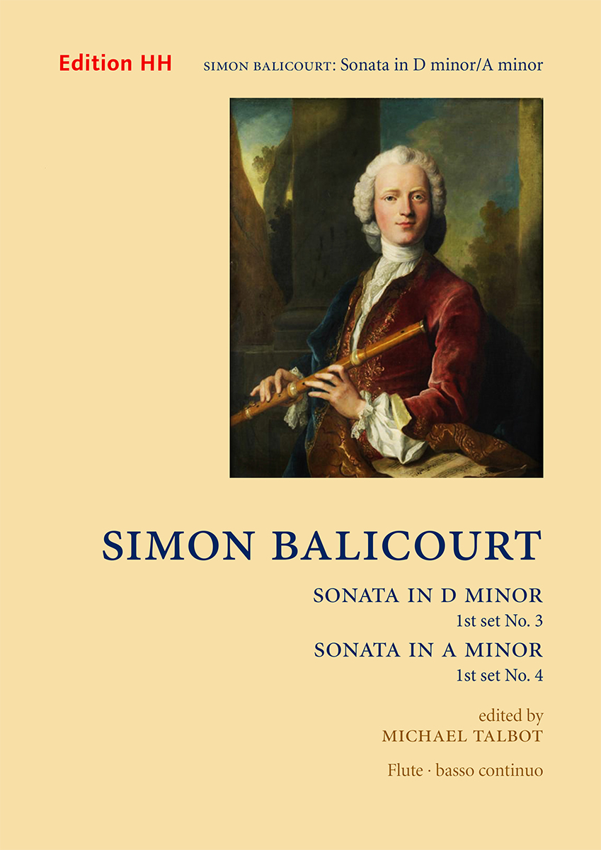Balicourt, Simon, Set 1: Sonatas nos. 3 in D minor and 4 in A minor