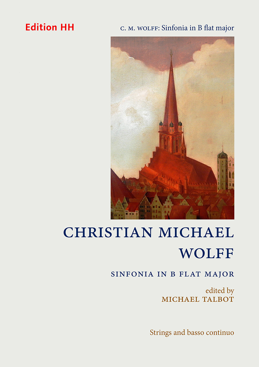 Wolff, Christian Michael: Sinfonia in B flat major