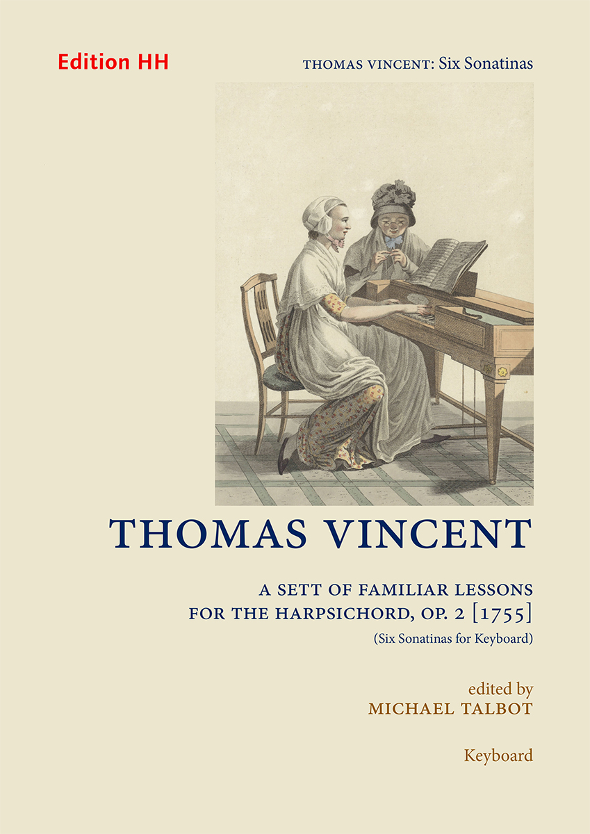Vincent, Thomas: Six Sonatinas