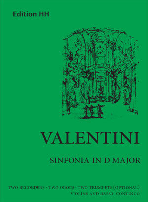 Valentini, Giuseppe: Sinfonia in D major