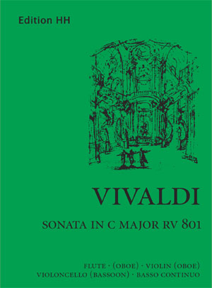 Vivaldi, Antonio: Sonata in C major (RV 801)