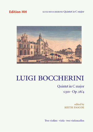 Boccherini, Luigi: Quintet in C major, G310