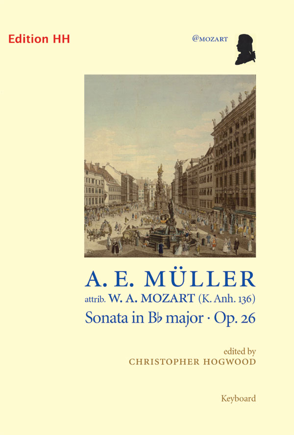 Müller, August:  Sonata in Bb major