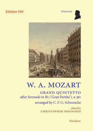 Mozart/Schwencke: Grand Quintetto; Pianoforte part