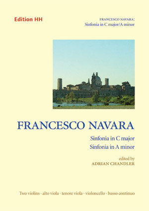 Navara, Francesco: Two Sinfonias