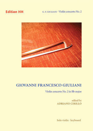 Giuliani, G. F.: Violin concerto in B flat major