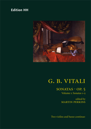 Vitali, Giovanni Battista: Sonatas, Op. 5 vol. 1