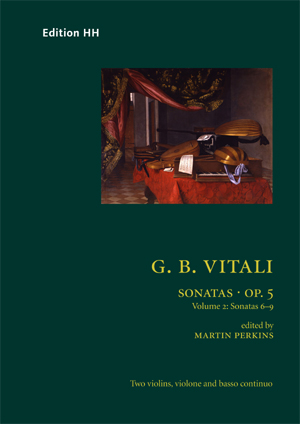 Vitali, Giovanni Battista: Sonatas, Op. 5 vol. 2