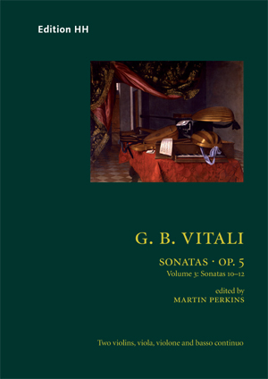 Vitali, Giovanni Battista: Sonatas, Op. 5 vol. 3