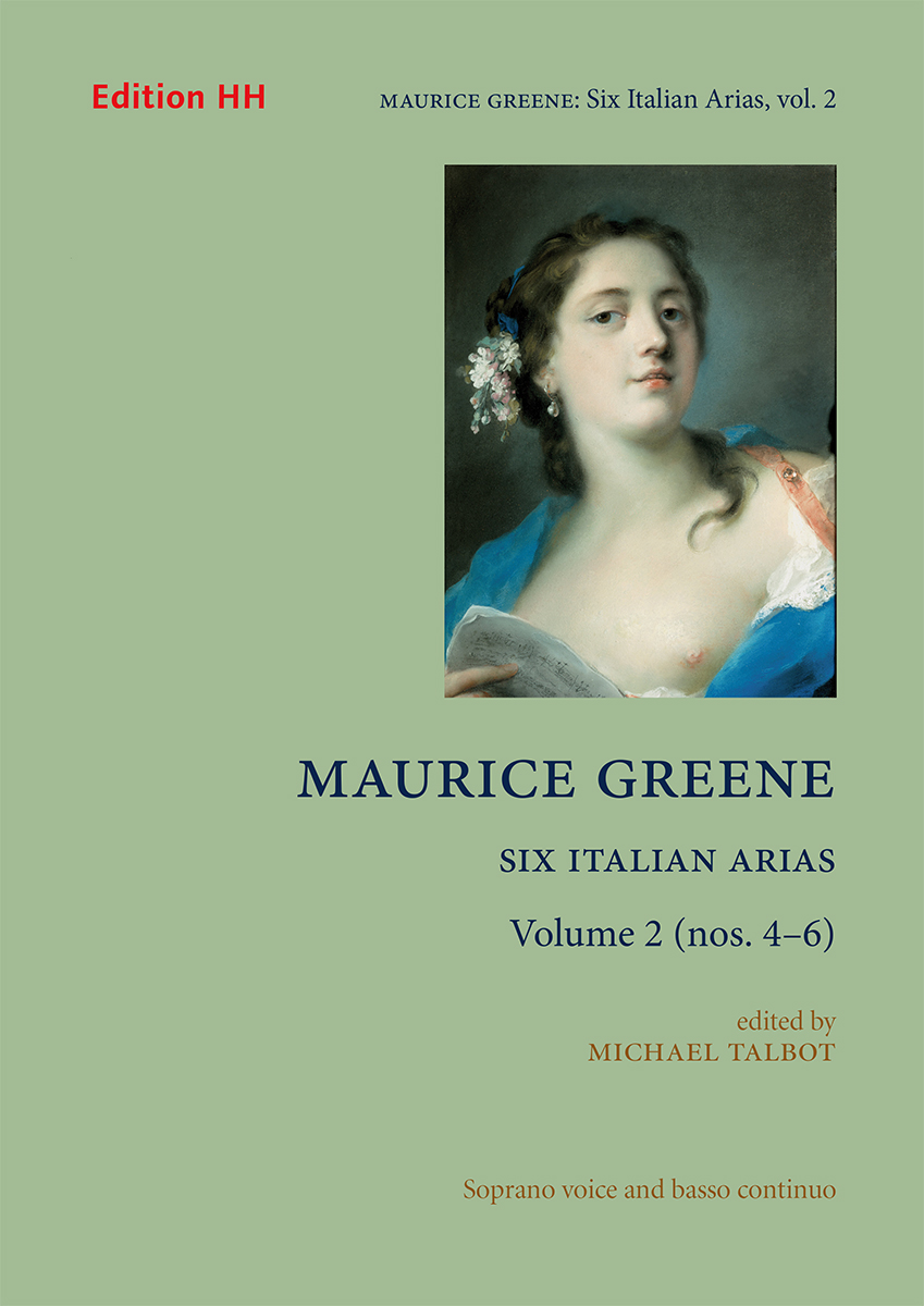 Greene, Maurice, Six Italian Arias, Volume 2