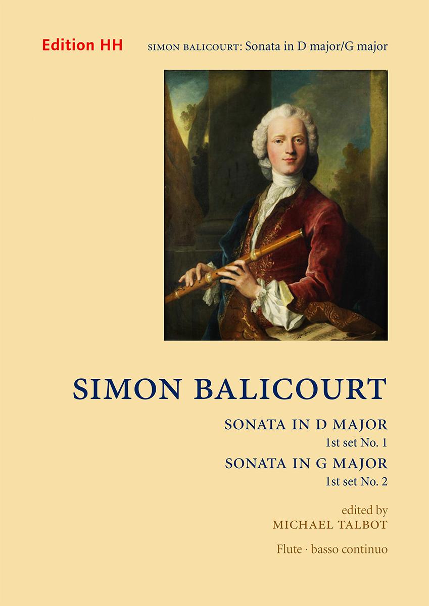 Balicourt, Simon, Set 1: Sonatas nos. 1 in D major and 2 in G major