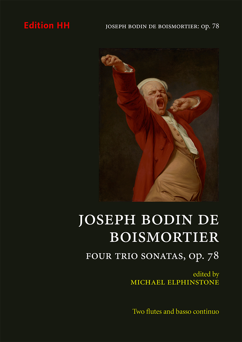 Boismortier, Joseph Bodin de: FourTrio Sonatas, Op. 78