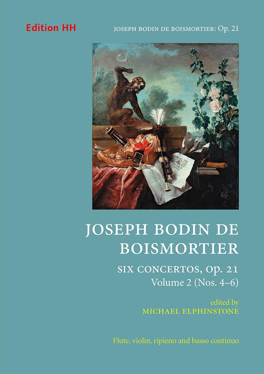 Boismortier, Joseph Bodin de: Six concertos Op. 21, volume 2