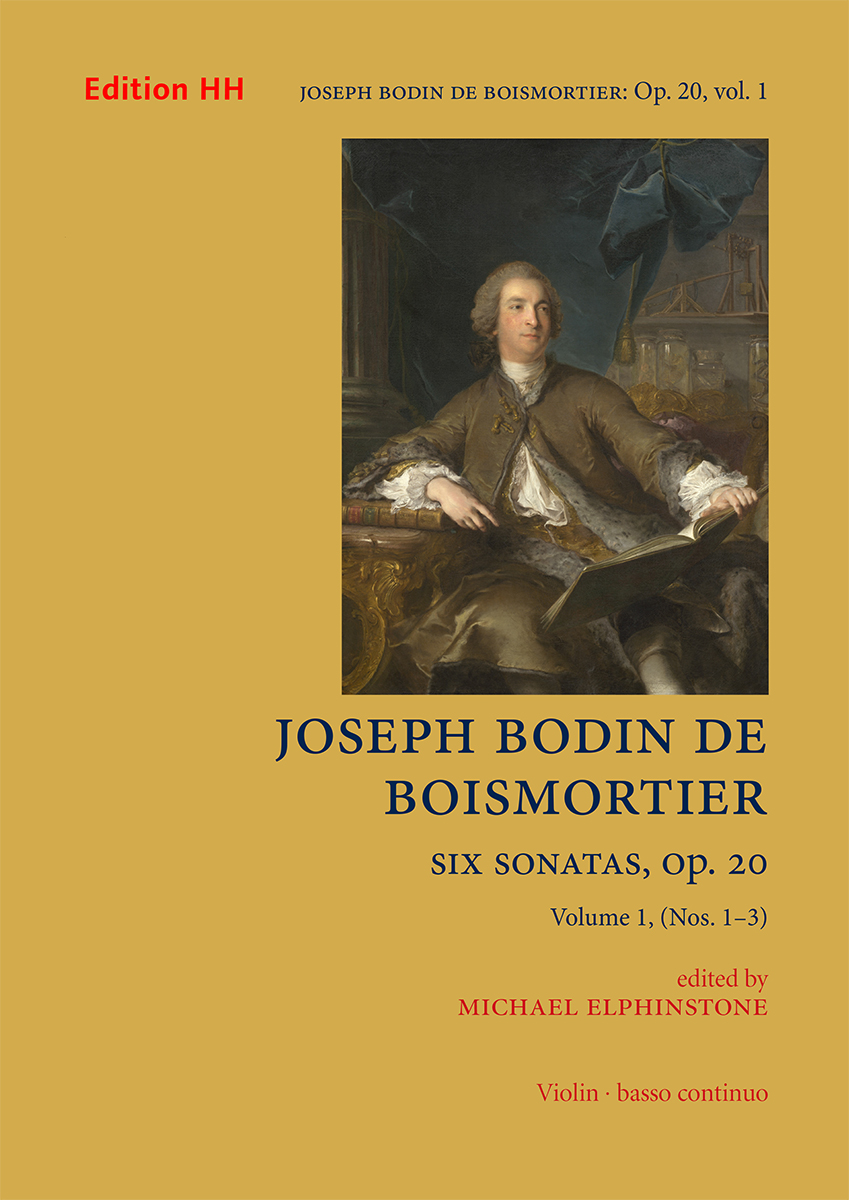Boismortier, Joseph Bodin de: Six sonatas Op. 20, volume 1