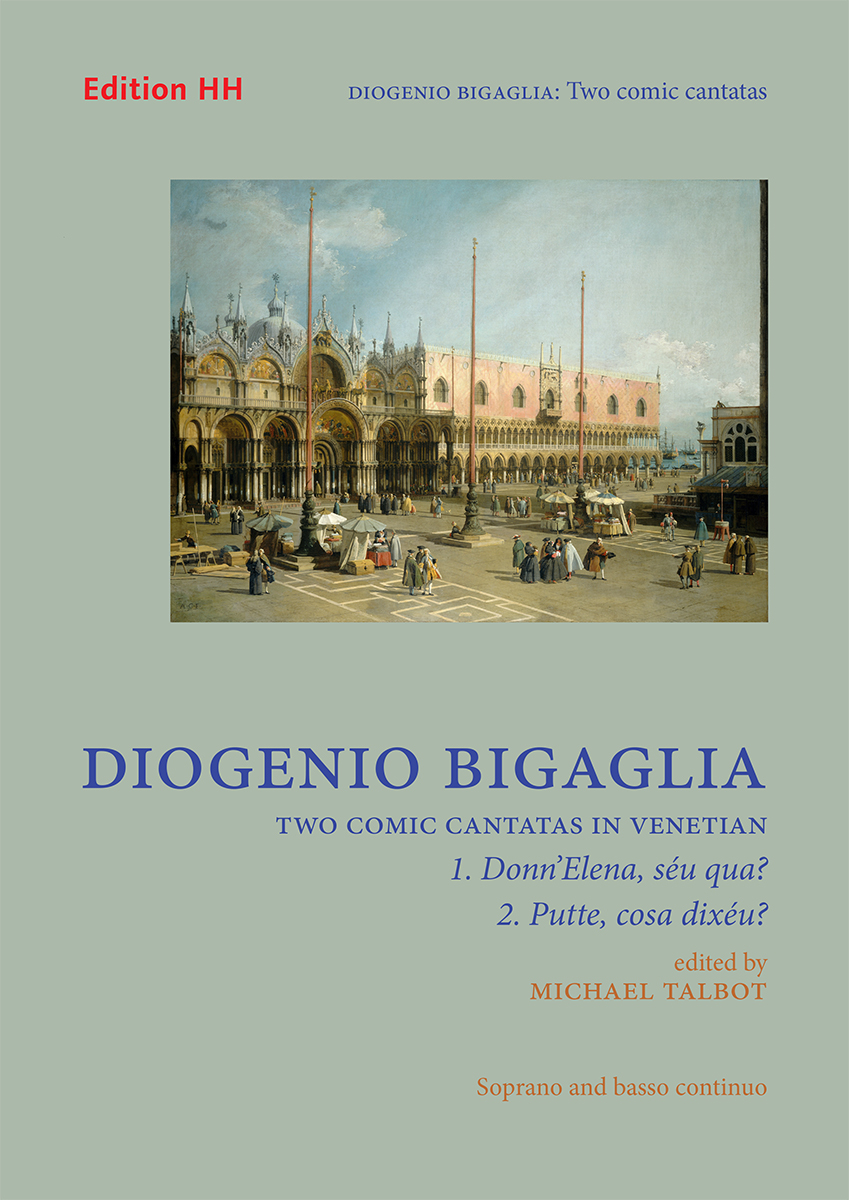Bigaglia, Diogenio:Two comic cantatas