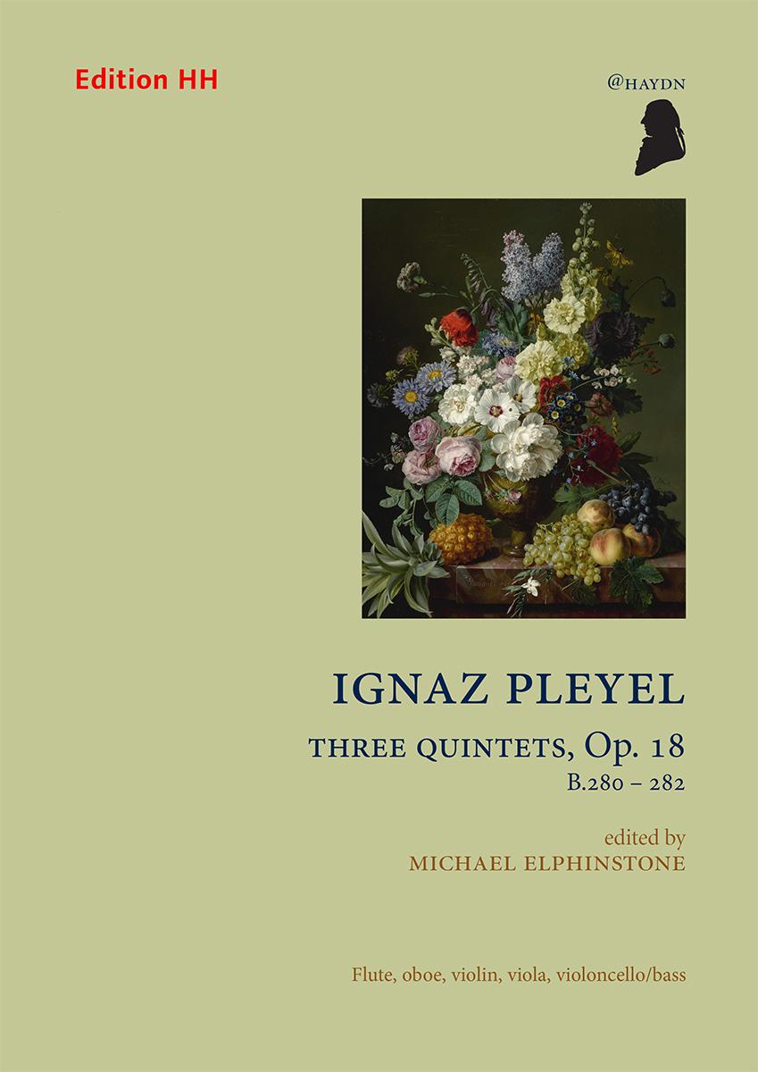 Pleyel, Ignaz: Three Quintets Op. 18