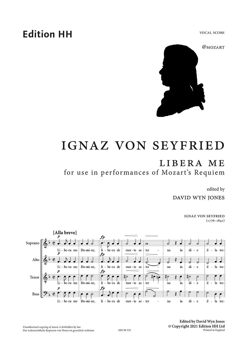 Seyfried, Ignaz von: Libera me, for use in performances of Mozart's Requiem