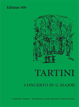 Tartini, Giuseppe: Concerto in G major (D.82)