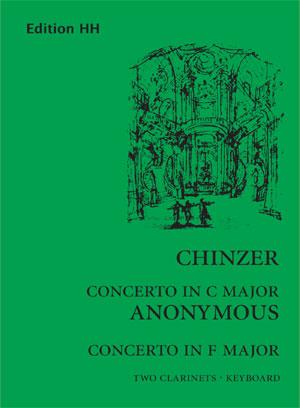 Chinzer, Giovanni/Anon:Concertos in Fmajor/C major