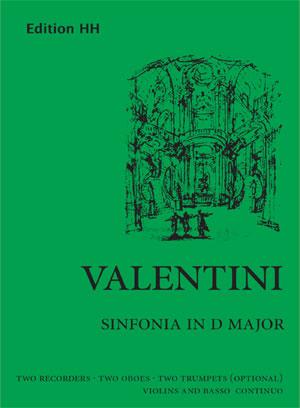 Valentini, Giuseppe: Sinfonia in D major