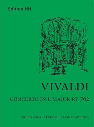 Vivaldi, Antonio: Concerto in E major (RV 762)