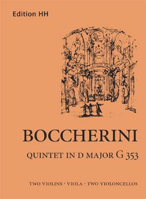 Boccherini, Luigi: Quintet in D major G353