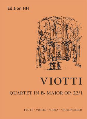 Viotti, G B: Quartet in B flat major Op22/1