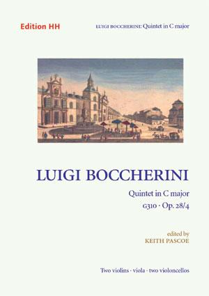 Boccherini, Luigi: Quintet in C major, G310