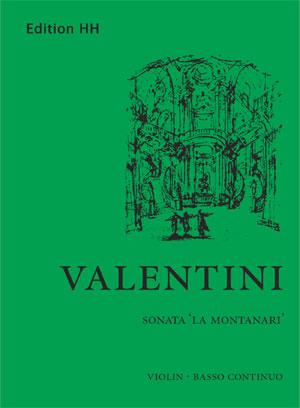 Valentini, Giuseppe: Sonata 'La Montanari'
