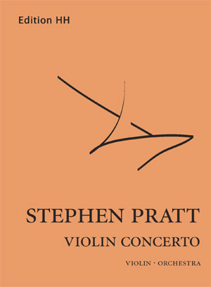 Pratt, Stephen: Violin concerto