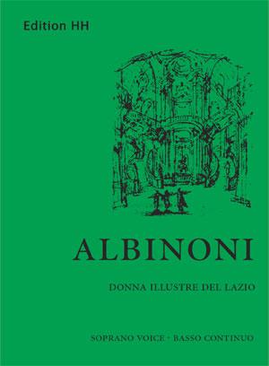 Albinoni, Tomaso: Donna illustre del Lazio