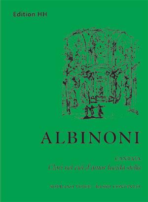 Albinoni, Tomaso: Clori nel ciel d'amor