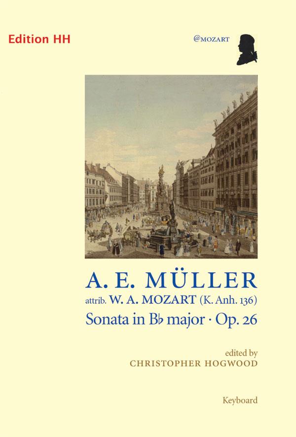 Müller, August:  Sonata in Bb major