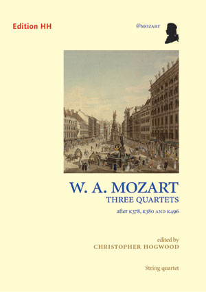 Mozart, W. A.: Three string quartets