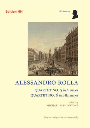 Rolla, Alessandro: Quartet No. 5 & 6