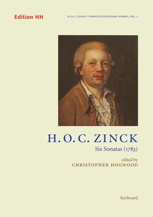 Zinck, Hardenack Otto Conrad, Six Sonatas (1783)
