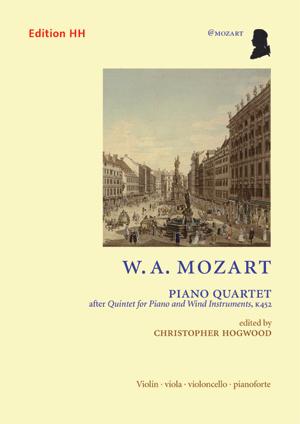 Mozart, W. A.: Piano quartet after K452