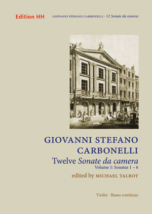 Carbonelli, Giovanni Stefano: 12 Sonate da Camera, Vol. 1