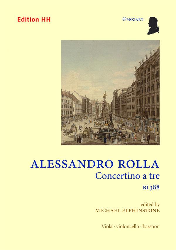 Rolla, Alessandro: Concertino a tre, BI 388