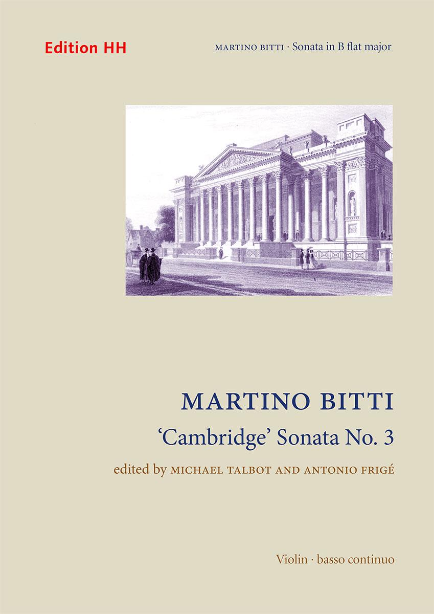 Bitti, Martino: 'Cambridge' Sonata No. 3