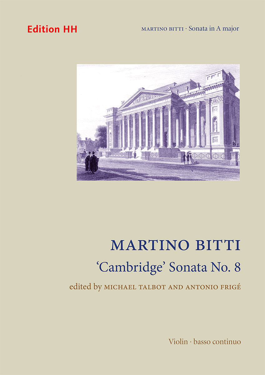 Bitti, Martino: 'Cambridge' Sonata No. 8