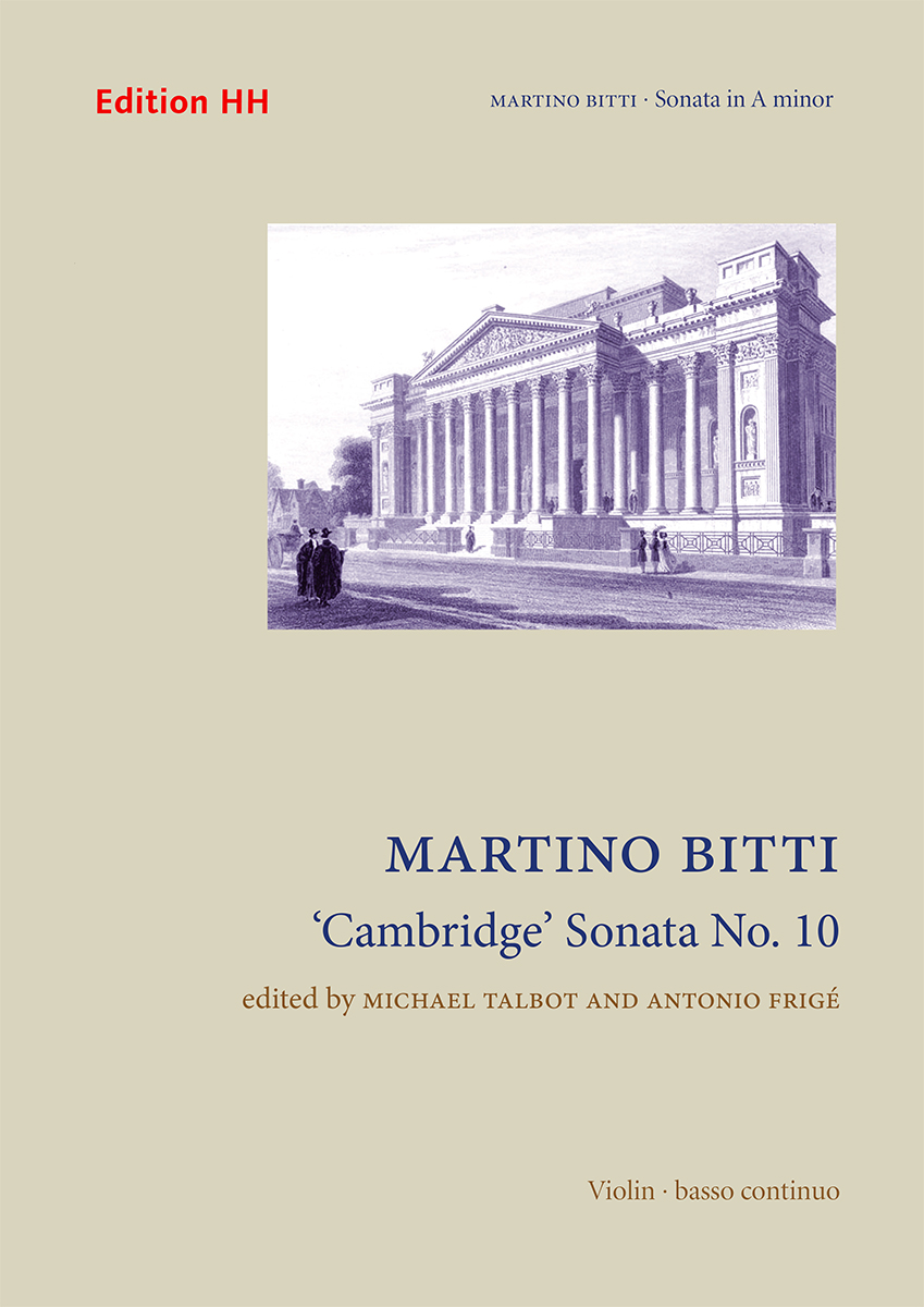 Bitti, Martino: 'Cambridge' Sonata No. 10