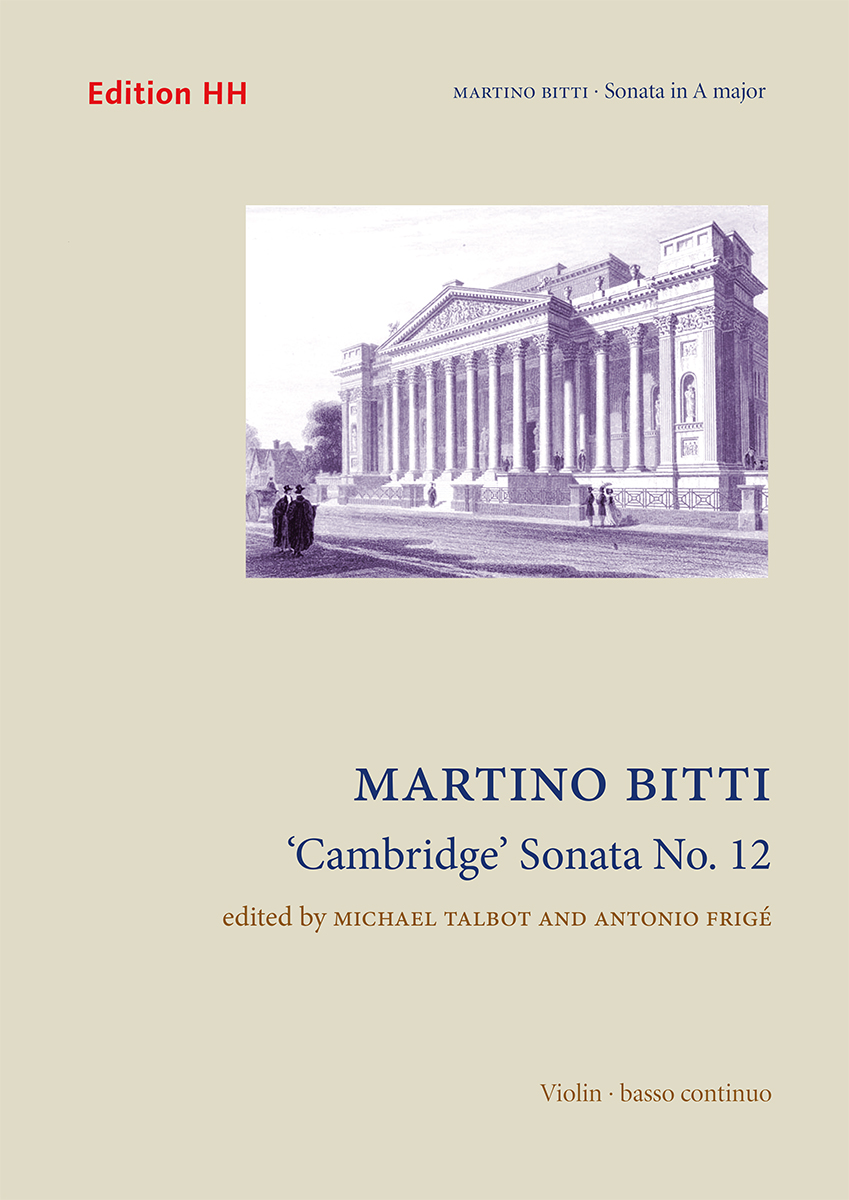 Bitti, Martino: 'Cambridge' Sonata No. 12