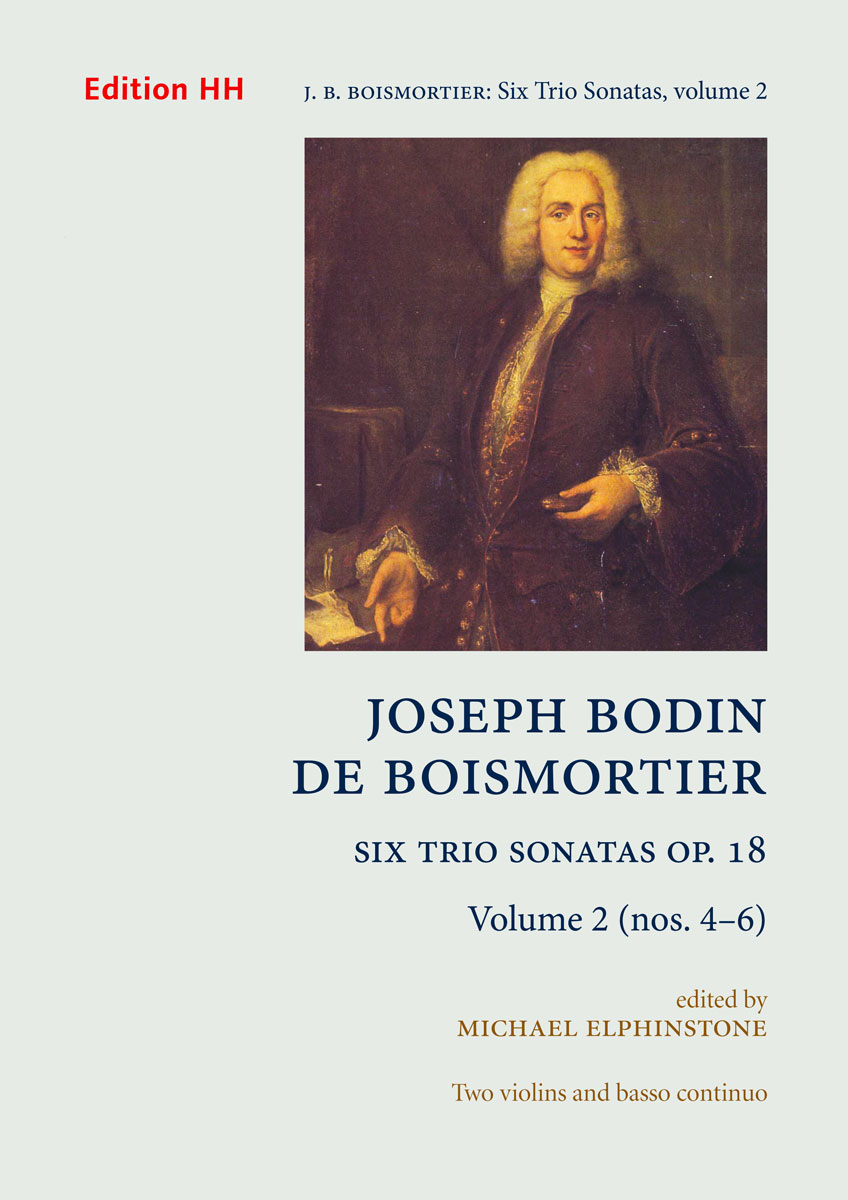 Boismortier, Joseph Bodin de: Six Trio Sonatas, Op. 18 volume 2